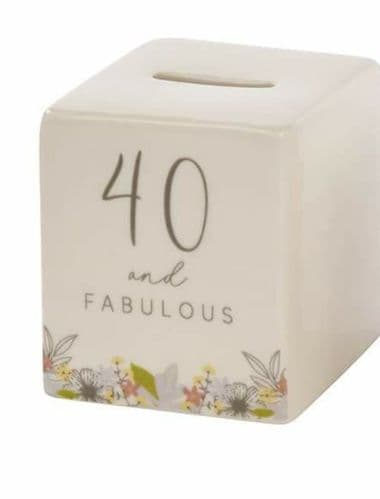 Langs - Mini Ceramic Age Money Box - 40