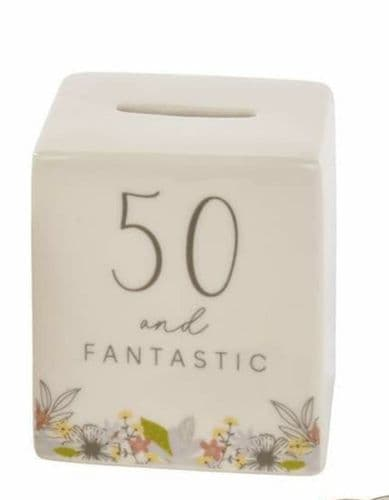 Langs - Mini Ceramic Money Box - 50