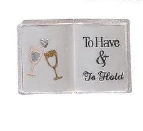 Langs -  Mini Wedding Book Keepsake - To Have And To Hold