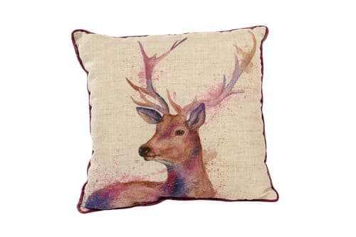 Langs - Painterly Stag Cushion