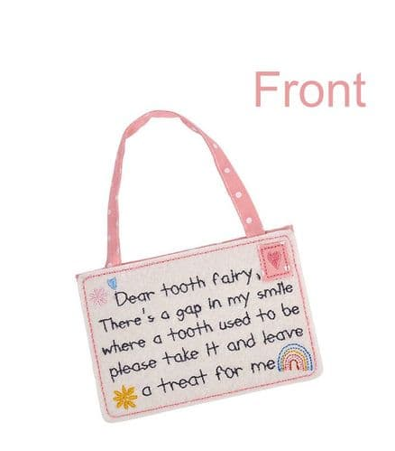 Langs -Pink Tooth Fairy Envelope - Gap In My Smile
