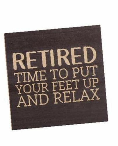 Langs - Retired - Feet Up Coaster