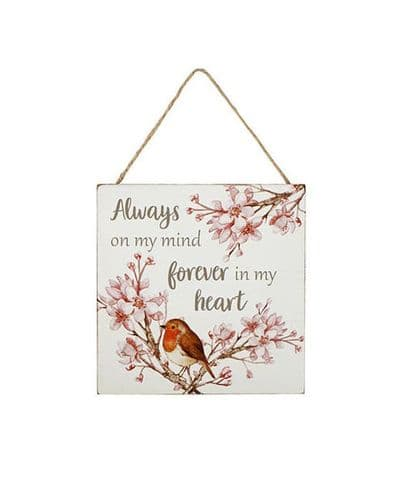 Langs - Robin Plaque - Always On My Mind