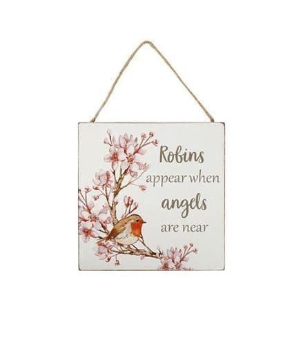 Langs - Robin Plaque - Robins Appear