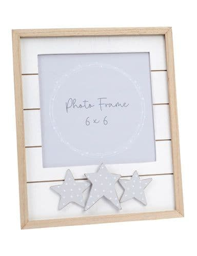 Langs - Slatted Frame With Dotty Stars