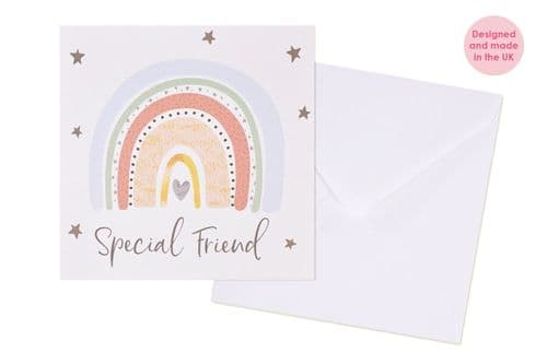Langs  - Special Friend Rainbow Card