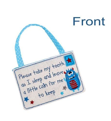 Langs - Tooth Fairy Blue Envelope - Leave A Coin