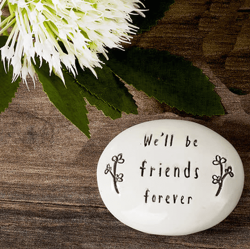 Langs - White Pebble - We'll Be Friends Forever