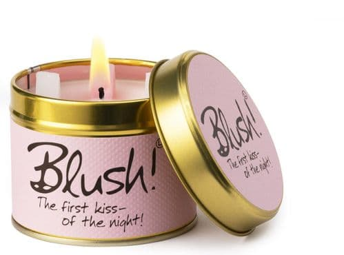 Lily-Flame - Blush Scented Candle  Tin