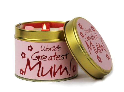 Lily Flame - Candle - World's Greatest Mum