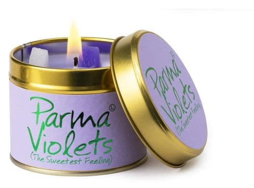 Lily Flame - Parma Violet Scented  Candle