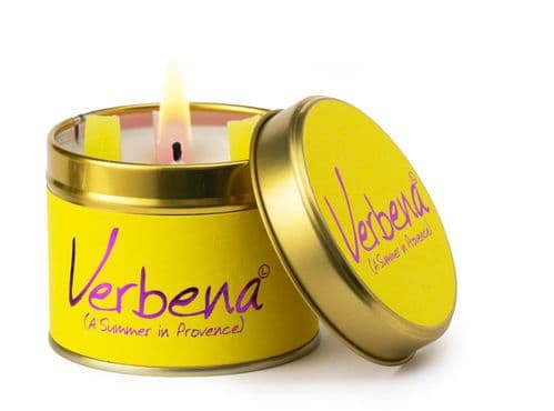 Lily-Flame Scented Candle - Verbena