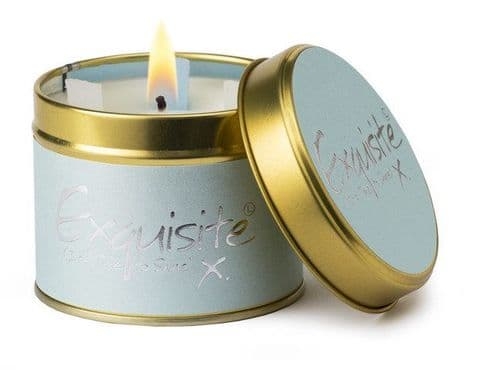 Lily Flame - Tin Candle - Exquisite