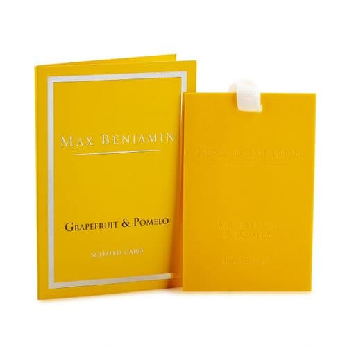 Max Benjamin - Scented Card - French Linen Water