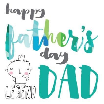 Pink Pig - Fathers Day Legend - Card