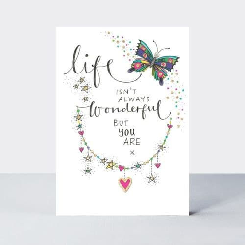 Rachel Ellen - Life Isn't Always Wonderful Card (tlc17)