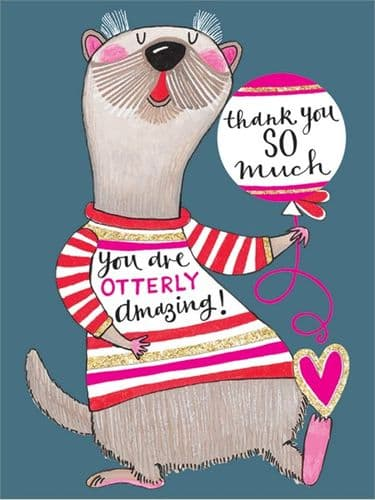Rachel Ellen - Thank You - Cards 5pk