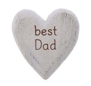Sass & Belle - Best Dad Heart Token