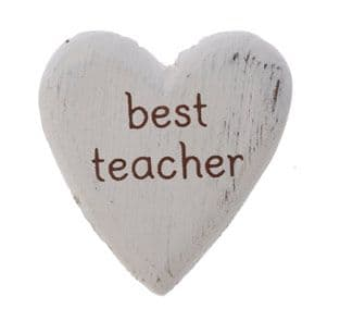 Sass & Belle - Best Teacher Heart Token