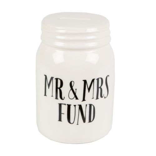 Sass & Belle - Mr & Mrs Fund Jar