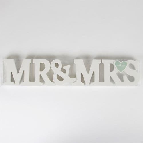Sass & Belle - Mr & Mrs Wooden Letters