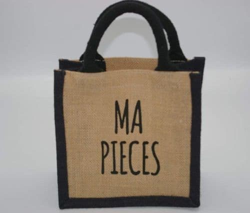 Scottish - Cute Jute Lunch Bag - Ma Pieces