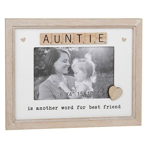 Scrabble Sentiment Frame - Auntie (271)