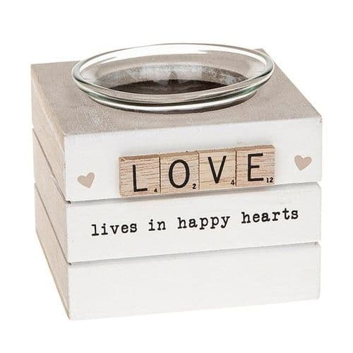 Scrabble Tea Light Holder - Love (311)