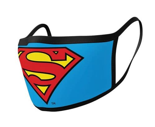 Superman - Face Covering - 2 Pack