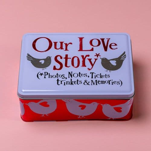 The Brightside - Our Love Story Tin