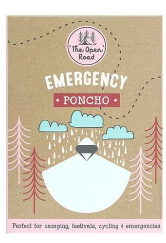 The Open Road - Emergency Poncho