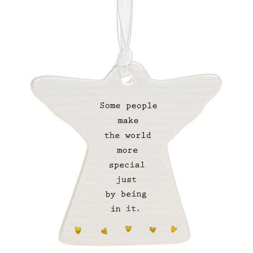 Thoughtful Words - Ceramic Angel - Some People (456)