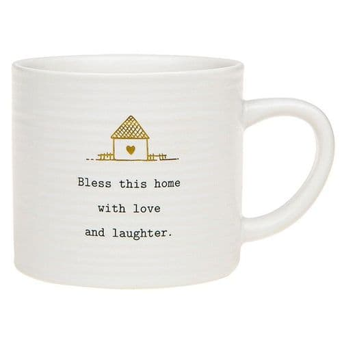 Thoughtful Words - Ceramic Mug - bless This House (495)
