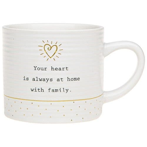Thoughtful Words - Ceramic  Mug - Heart at Home (501)