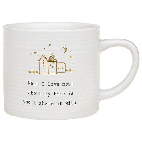 Thoughtful Words - Ceramic Mug - Home / Love (498)