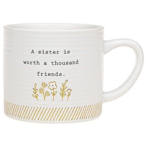 Thoughtful Words - Ceramic Mug -  Sister (497)