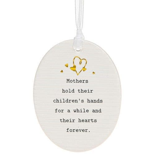 Thoughtful Words - Ceramic Oval - Mothers (477)