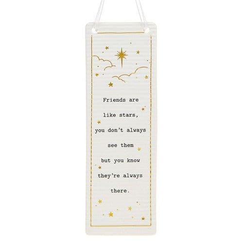Thoughtful Words - Ceramic Rectangle - Friends (412)