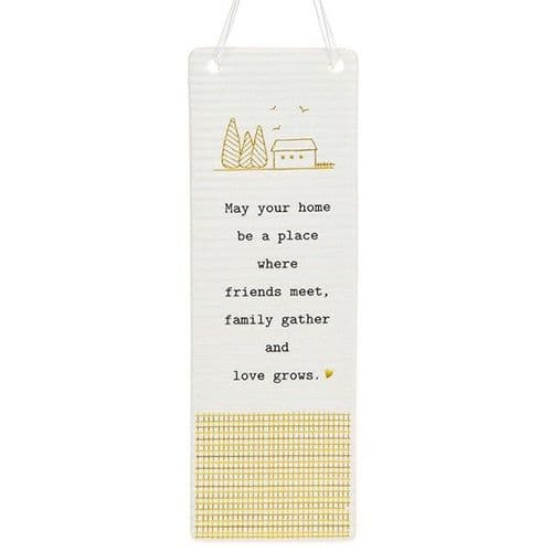 Thoughtful Words - Ceramic Rectangle - Home (421)