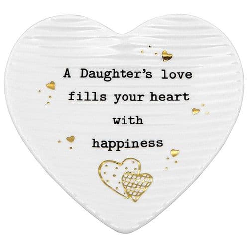 Thoughtful Words Trinket Dish - Daughter