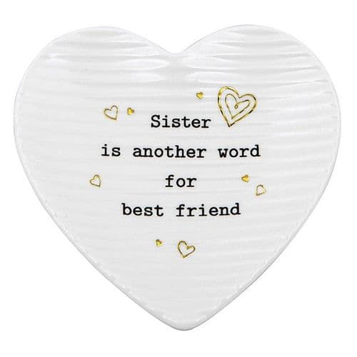 Thoughtful Words - Trinket Dish Sister