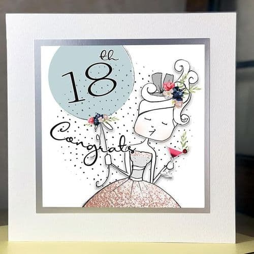 Tracey Russell - Delightful - Birthday Card -18