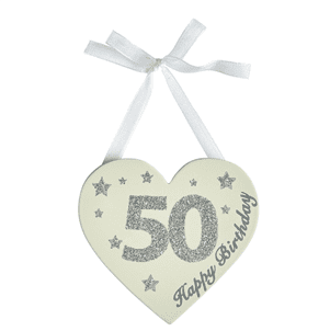 Transomnia - Birthday Glitter Heart - 50