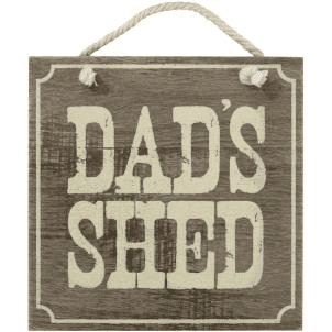 Transomnia - Dad's Shed Sign
