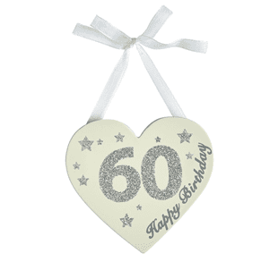 Transomnia - Glitter Birthday Heart - 60