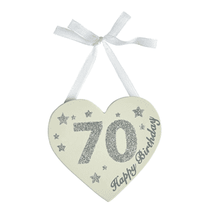 Transomnia -Glitter Birthday Heart - 70