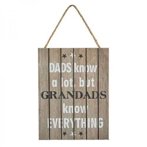 Transomnia - Grandads Know Everything Sign