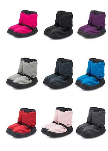 BLOCH Adult Women's Warm Up Dance Booties Boots Designed by Irina and Max
