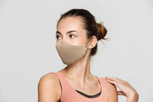 BLOCH B-Safe Adults Unisex Soft Stretch Face Covering Mask Reusable Washable