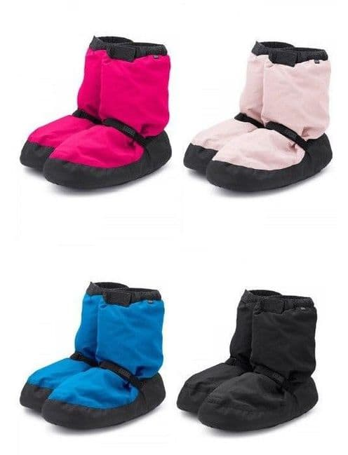 BLOCH Girls Children's Warm Up Dance Boots Booties Designed by Irina and Max